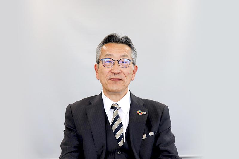 代表取締役社長  佐藤 豊